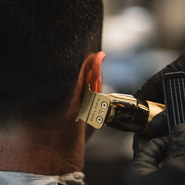 Gold clippers Barber & Co